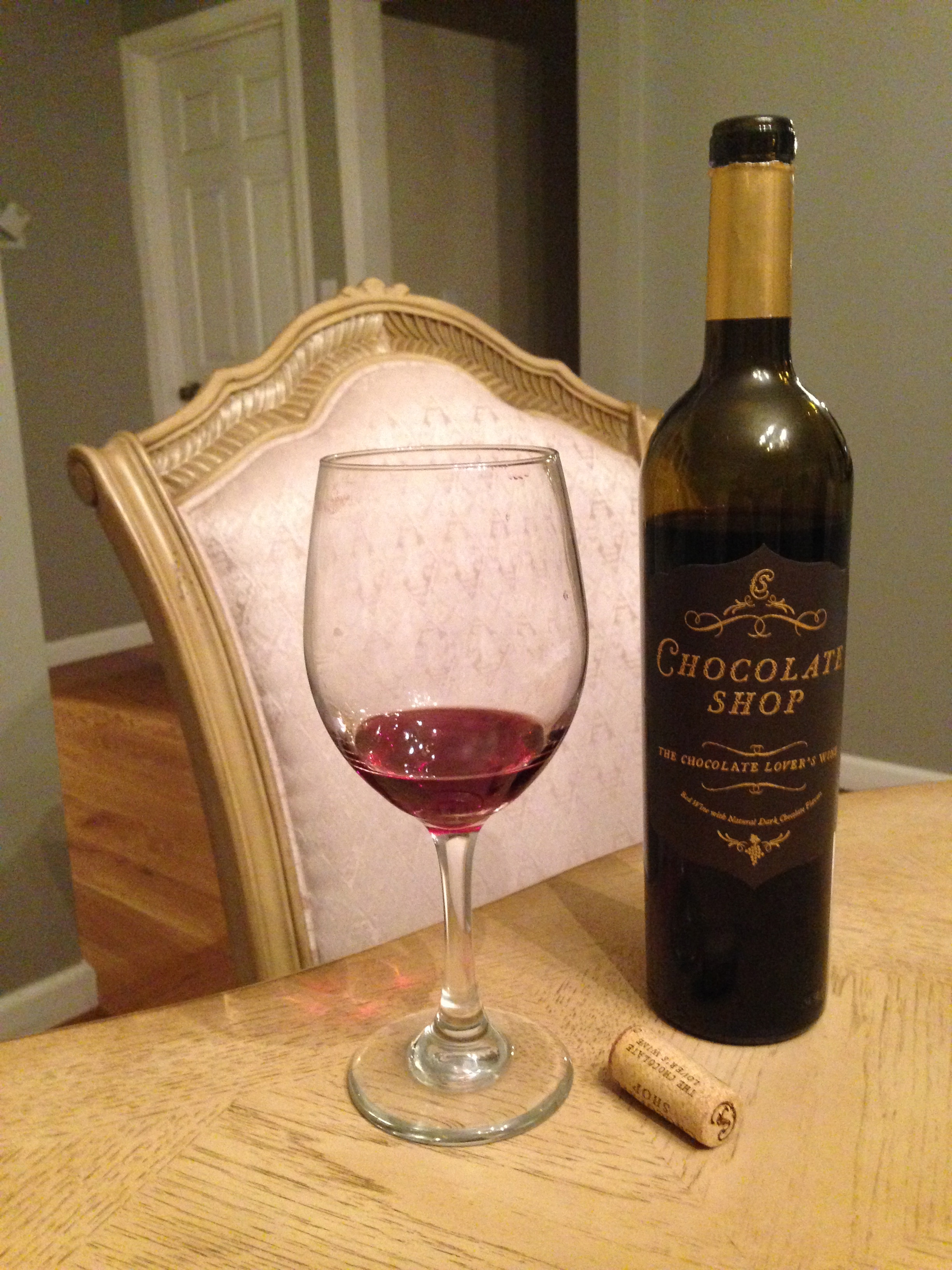 Wine Fear Factor Friday! Chocolate Shop, Chocolate Lover's Wine ...
