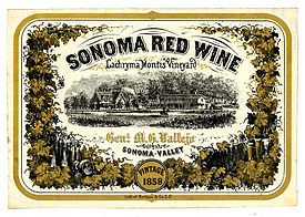 Wine_label_Lachryma_Montis_Vineyard,Sonoma_Red_Wine_1858
